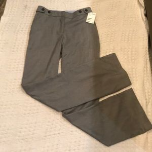 H&M dress pants straight leg with boot cut bottom
